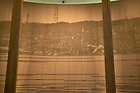 Display of Ground Zero at the Hiroshima Peace Museum. Image 19 of 19 taken with a Fuji X-T1 camera and 23 mm f/1.4 lens (ISO 800, 23 mm, f/1.4, 1/30 sec).