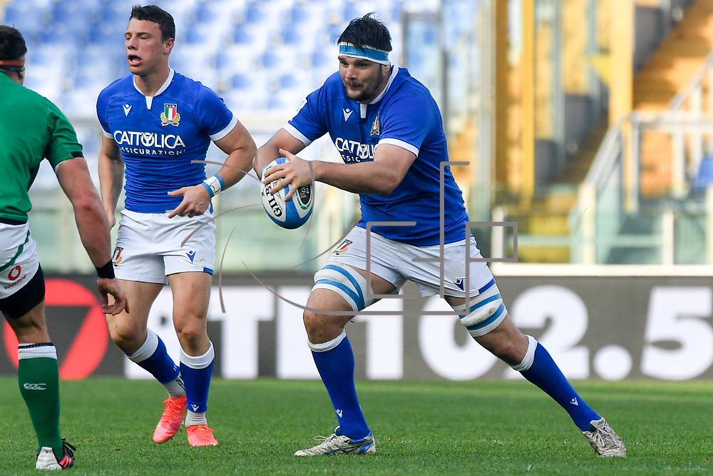Roma 27/02/2021, Stadio Olimpico<br /> Guinness Six Nations 2021<br /> Italia vs Irlanda <br /> <br /> David Sisi