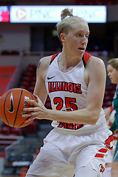 10 December 2017: Hannah Green during an College Women's Basketball game between Illinois State University Redbirds and the Eagles of Eastern Michigan at Redbird Arena in Normal Illinois.
