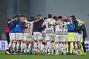 Foto  Spada/LaPresse <br /> 23 ottobre 2021 - Reggio Emilia , Italia <br /> Sport, Calcio <br /> Sassuolo vs Venezia - Campionato italiano di calcio Serie A TIM 2021/2022 - Stadio Mapei<br /> Nella foto: delusione venezia <br /> <br /> Photo Spada/LaPresse <br /> October 23  , 2021 - Reggio Emilia ,Italy<br /> Sport, Soccer <br /> Sassuolo vs Venezia - Italian Serie A Football Championship 2021/2022 - Mapei Stadium<br /> In the photo: delusion venezia players