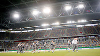 Fotball, 10. februar 2009 ,Trening foran privat-kampen mellom Norge og Tyskland<br /> Norge trener under tak på LTU Arena i Düsseldorf
