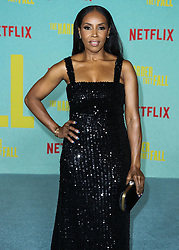 Costume designer June Ambrose wearing Gucci arrives at the Los Angeles Premiere Of Netflix's 'The Harder They Fall' held at the Shrine Auditorium and Expo Hall on October 13, 2021 in Los Angeles, California, United States. Photo by Xavier Collin/Image Press Agency/ABACAPRESS.COM