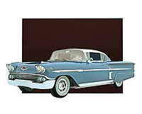 This stunning entry from Chevrolet is celebrated as one of the finest designs ever brought to life by the company. The Chevrolet Impala Special Edition truly lived up to the special part of its name. This digital painting by Jan Keteleer takes you back to the days when these cars ruled the roads. .<br /> <br /> BUY THIS PRINT AT<br /> <br /> FINE ART AMERICA<br /> ENGLISH<br /> https://janke.pixels.com/featured/chevrolet-impala-special-edition-jan-keteleer.html<br /> <br /> WADM / OH MY PRINTS<br /> DUTCH / FRENCH / GERMAN<br /> https://www.werkaandemuur.nl/nl/shopwerk/Klassieke-auto---Oldtimer-Chevrolet-Impala-Special-Edition/435893/134