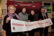 Galway launches 200 Gatherings ! Come home to Irelands Cultural Heart  with help of Aughrim Gathering Carmel Murray Annemarie Salmon Mary Mc Loughlin  at Aras An Contae. Picture Andrew Downes.