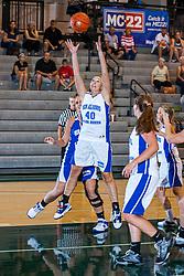18 June 2011: Jess Reinhart at the 2011 IBCA (Illinois Basketball Coaches Association) girls all star games.