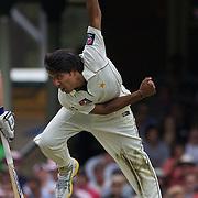 in action during the Australia V Pakistan 2nd Cricket Test match at the Sydney Cricket Ground, Sydney, Australia, 3 January 2010. Photo Tim Clayton