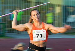 Mariya Abakhumova of Russia competes at Women Javelin during 20th European Athletics Classic Meeting in Honour of Miners' Day in Velenje on July 1, 2015 in Stadium Velenje, Slovenia. Photo by Vid Ponikvar / Sportida
