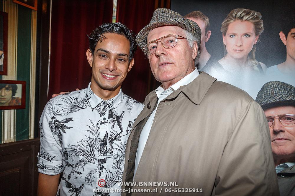NLD/Amsterdam/20150916 - Perspresentatie Baantjer Live 2, Roben Mitchel van den Dungen