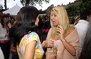 Yasmine Mills and Beverley Bloom. Michelle Watches Kaleidoscope Summer party. Home House. 15 June 2005 ONE TIME USE ONLY - DO NOT ARCHIVE  © Copyright Photograph by Dafydd Jones 66 Stockwell Park Rd. London SW9 0DA Tel 020 7733 0108 www.dafjones.com