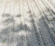 Japan, Kyoto, Ginkaku-ji (Jish?-ji or Temple of the Silver Pavilion) Zen Buddhist temple, View of the dry garden