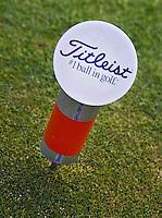 WESTERBURG , DUITSLAND - Titleist Tee, Golf Club Wiesensee bij Lindner Hotel & Sporting Club Wiesensee in Westerburg (Westerwald). COPYRIGHT KOEN SUYK