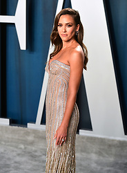 Jessica Alba attending the Vanity Fair Oscar Party held at the Wallis Annenberg Center for the Performing Arts in Beverly Hills, Los Angeles, California, USA.