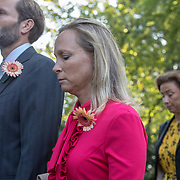 NLD/Den Haag/20190822 - Uitvaart Prinses Christina,Margarita de Bourbon de Parme en partner Tjalling ten Cate