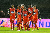 Joie Wesley SAID / Groupe Laval   - 30.01.2015 - Laval / Troyes  - 22eme journee de Ligue 2<br /> Photo : Vincent Michel / Icon Sport