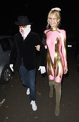 Celebrities attend an annual Halloween party, held at the Hampstead home of talk show host Jonathan Ross. 31 Oct 2017 Pictured: Claudia Schiffer, Matthew Vaughn. Photo credit: Will / Craig / MEGA TheMegaAgency.com +1 888 505 6342
