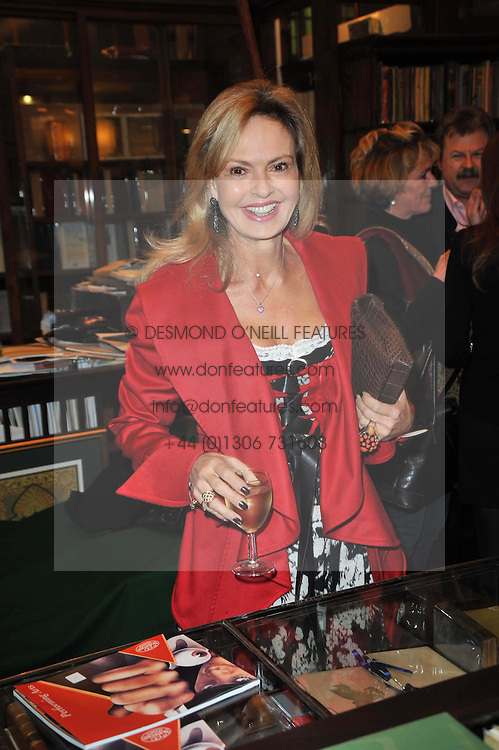COUNTESS MAYA VON SCHONBURG at a party to celebrate the publication of Maryam Sach's novel 'Without Saying Goodbye' held at Sotheran's Bookshop, 2 Sackville Street, London on 10th November 2009.