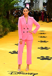 Rochelle Humes attending Disney's The Lion King European Premiere held in Leicester Square, London.