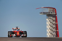 ALONSO Fernando (Spa) Ferrari F14T action   during the 2014 Formula One World Championship, United States of America Grand Prix from November 1st to 2nd 2014 in Austin, Texas, USA. Photo Frederic Le Floch / DPPI.