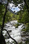 Ingalls Creek Trail, Wenatchee National Forest, between Leavenworth and Blewett Pass, in Washington, USA.