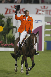 Houtzager Marc (NED) - Opium VS<br /> Mercedes-Benz Preis part of the Meydan FEI Nations Cup<br /> CHIO Aachen 2009<br /> Photo © Dirk Caremans