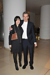 SHARLEEN SPITERI and PETER CAPALDI at a Burns Night dinner in aid of cancer charity CLIC Sargent held at St.Martin's Lane Hotel, London on 25th January 2011.