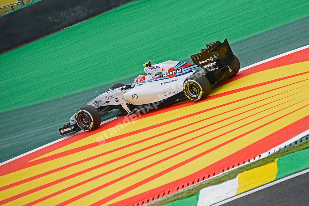 Felipe Nasr (Williams-Mercedes) off the circuit during practice for the 2014 Brazilian Grand Prix at Interlagos in Sao Paulo. Photo: Grand Prix Photo