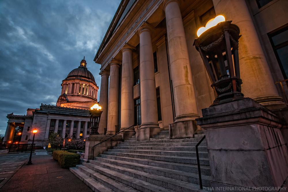 Insurance Building & Washington State Capitol