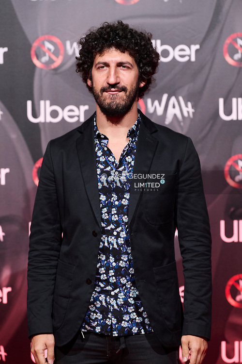 Marwan attends 'Wah' Musical Show World Premiere Red Carpet at IFEMA on October 7, 2021 in Madrid, Spain