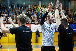 Stemberger Zupan Andrej of Calcit Volley during volleyball match between Calcit Volley and ACH Volley in Final of 1. DOL Slovenian Man national Championship 2016/17 on 24th of April, 2017 in Kamnik, Slovenija.  Photo by Grega Valancic / Sportida