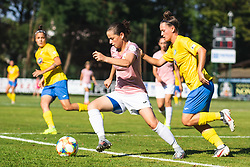 during football match between ZNK Pomurje and FC Nike in 2nd Round of UWCL qualifying 2019/20, on Avgust 10, 2019 in Sportni Park Beltinci, Beltinci, Slovenia. Photo by Blaž Weindorfer / Sportida