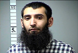 Oct 31, 2017 - New York, New York, U.S. - SAYFULLO HABIBULLAEVIC SAIPOV, 29, is an Uzbekistan national who entered the U.S. in 2010. Saipov is believed to be the man who killed eight people and injured more than 12 in lower Manhattan on Tuesday by driving a rental truck on a bike path. Saipov is seen in an undated handout photo provided by the St. Charles MO Dept of Corrections. (Credit Image: © St. Charles MO Dept of Corrections via ZUMA Wire)