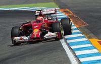 Kimi Raikkonen (Raeikkoenen, Ferarri)<br /> Formel 1, Grosser Preis Santander von Deutschland 2014, Hockenheimring<br /> Norway only<br /> F1