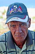 USA hat in Gibara, Holguin, Cuba.