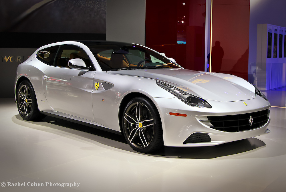 """""""Ferrari FF Silver""""<br /> <br /> The beautiful and stylish Ferrari FF Silver!!<br /> Cool, fast, and futuristic!!<br /> <br /> Cars and their Details by Rachel Cohen"""