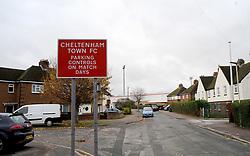 General views outside the stadium- Mandatory by-line: Nizaam Jones/JMP - 21/11/2020 - FOOTBALL - Jonny-Rocks Stadium - Cheltenham, England - Cheltenham Town v Walsall - Sky Bet League Two