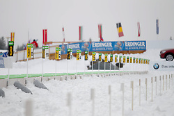 11.12.2011, Biathlonzentrum, Hochfilzen, AUT, E.ON IBU Weltcup, 2. Biathlon, Hochfilzen, Staffel Herren, im Bild Schiessstand // during Team Relay E.ON IBU World Cup 2th Biathlon, Hochfilzen, Austria on 2011/12/11. EXPA Pictures © 2011. EXPA Pictures © 2011, PhotoCredit: EXPA/ nph/ Straubmeier..***** ATTENTION - OUT OF GER, CRO *****