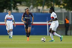May 18, 2018 - Saint Germain En Laye, France - Marie Delie (PSG ) vs Griedge M Bock Mbock  (Credit Image: © Panoramic via ZUMA Press)