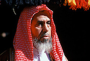 Bedouin arab man in Saudi Arabia