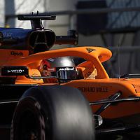 19.02.2020, Circuit de Catalunya, Barcelona, Formel 1 Testfahrten 2020 in Barcelona<br /> , im Bild<br />Carlos Sainz Jr. (SPA#55), McLaren F1 Team<br /> <br /> Foto © nordphoto / Bratic