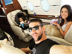 "Michael Phelps releases a photo on Instagram with the following caption: ""Family travels!!"". Photo Credit: Instagram *** No USA Distribution *** For Editorial Use Only *** Not to be Published in Books or Photo Books ***  Please note: Fees charged by the agency are for the agency's services only, and do not, nor are they intended to, convey to the user any ownership of Copyright or License in the material. The agency does not claim any ownership including but not limited to Copyright or License in the attached material. By publishing this material you expressly agree to indemnify and to hold the agency and its directors, shareholders and employees harmless from any loss, claims, damages, demands, expenses (including legal fees), or any causes of action or allegation against the agency arising out of or connected in any way with publication of the material."