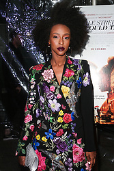 December 4, 2018 - Hollywood, California, United States - HOLLYWOOD, LOS ANGELES, CA, USA - DECEMBER 04: Emily Obsidian arrives at the Los Angeles Special Screening Of Annapurna Pictures' 'If Beale Street Could Talk' held at ArcLight Hollywood on December 4, 2018 in Hollywood, Los Angeles, California, United States. (Credit Image: © face to face via ZUMA Press)