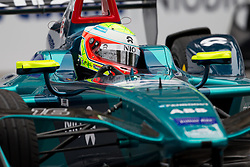 April 14, 2018 - Rome, RM, Italy - O. Turvey of Neo Formula E Team during Rome E-Prix Round 7 as part of the ABB FIA Formula E Championship on April 14, 2018 in Rome, Italy. (Credit Image: © Danilo Di Giovanni/NurPhoto via ZUMA Press)