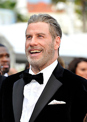 John Travolta attending the Solo: A Star Wars Story premiere at the 71st Cannes Film Festival.
