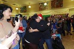 Piolin Entregando Sonrisas con Amazon on December 04, 2019 in Los Angeles, California, United States (Photo by © Jc Olivera/VipEventPhotography.com