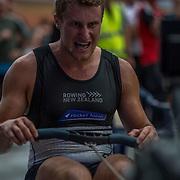 Angus McFarlane 5000m Heavyweight NZ Squad 5K race 10:30am <br /> <br /> <br /> www.rowingcelebration.com Competing on Concept 2 ergometers at the 2018 NZ Indoor Rowing Championships. Avanti Drome, Cambridge,  Saturday 24 November 2018 © Copyright photo Steve McArthur / @RowingCelebration