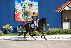 HILD Birgit (GER), Goldmond TSF<br /> Hagen - Horses and Dreams meets the Royal Kingdom of Jordan 2018<br /> Einlaufprüfung Nürnberger Burg Pokal<br /> 26 April 2018<br /> www.sportfotos-lafrentz.de/Stefan Lafrentz