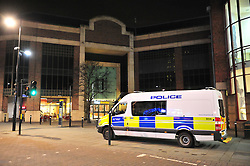 © Licensed to London News Pictures. 26/12/2015<br /> Police have arrested a man in the Intu shopping centre in Bromley,Kent. Armed police were called after getting reports of a man attacking people with a large machete.<br /> (Byline:Grant Falvey/LNP)