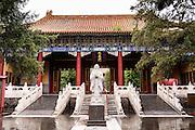 Temple of Confucius in Beijing, China