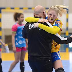 HBALL: 12-02-2017 - Nykøbing F. Håndboldklub - TuZ Metzingen - EHF Cup 2016-2017