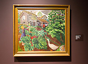 'The Geese' 1925-26 oil painting on canvas by Nikolai Astrup 1880-1928, Kode 4 art gallery Bergen, Norway
